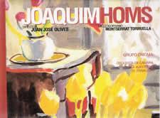 JUAN JOSÉ OLIVES EN UN CD SOBRE JOAQUIN HOMS