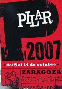 YA TENEMOS CARTEL PARA LAS FIESTAS DEL PILAR 2007